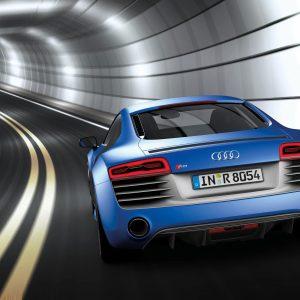 Audi R8 V10 plus/Fahraufnahme